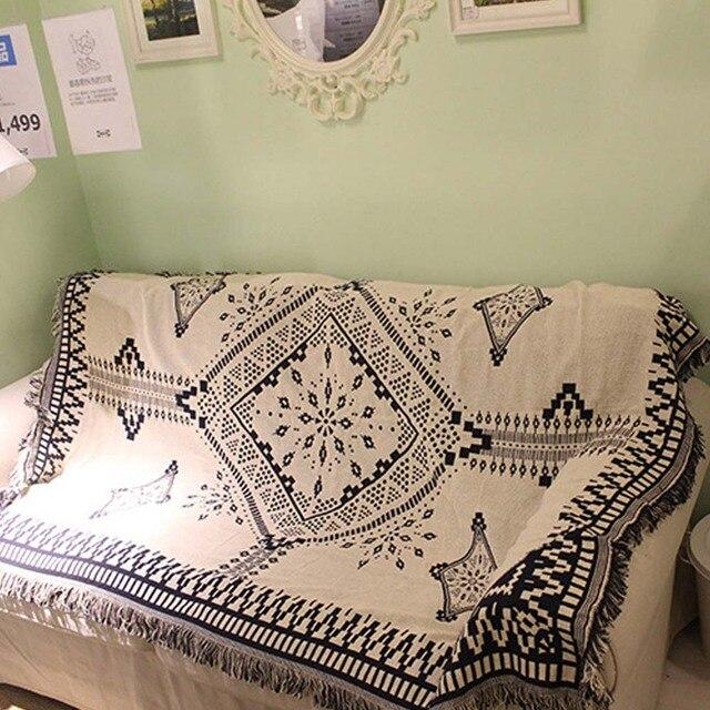 Persian Knitting Leisure Throw Bed Sofa