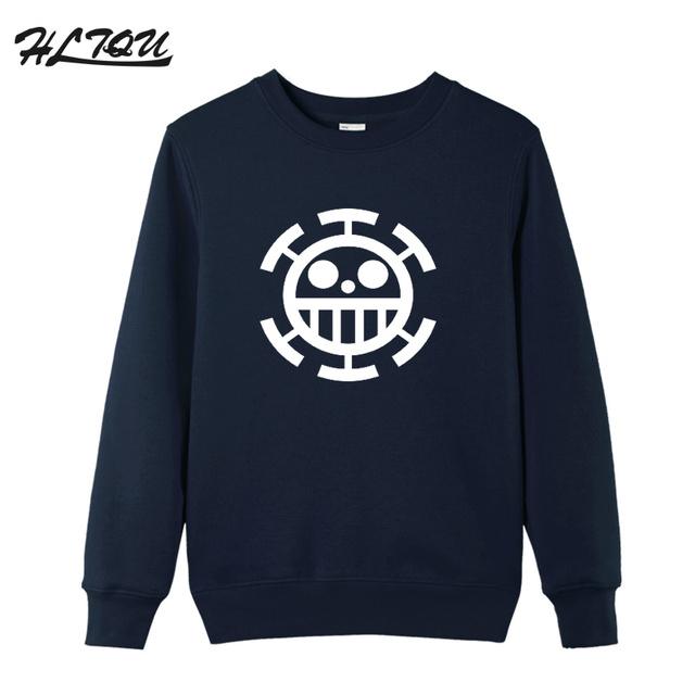 Men's Good Quality anime Trafalgar Law printed Sweatshirts Cosplay Casual long Sleeve Personalized dresses for men plus size