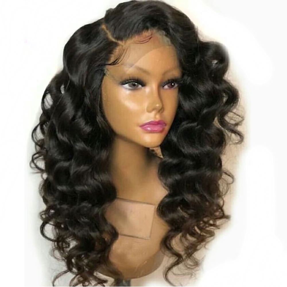 Eversilky 13x6 Deep Frontal Brazilian Lace Front Human Wigs With Baby Hair Pre Plucked Remy Hair Body Wave Wig For Women