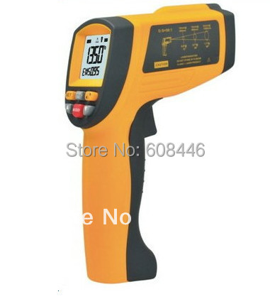 LCD Handheld InfraRed Thermometers Gun Temperature Laser targeting -18to1350 Celsius(( 0~2462 Fahrenheir))