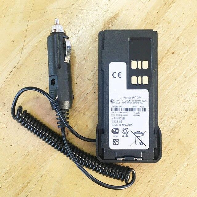 Dc12v PMNN4416車の充電器エリミネーターモトローラxir p6600 P6620 XPR3500 XPR3300 DE570 DEP550 DP2600 DP2400 etcトランシーバー