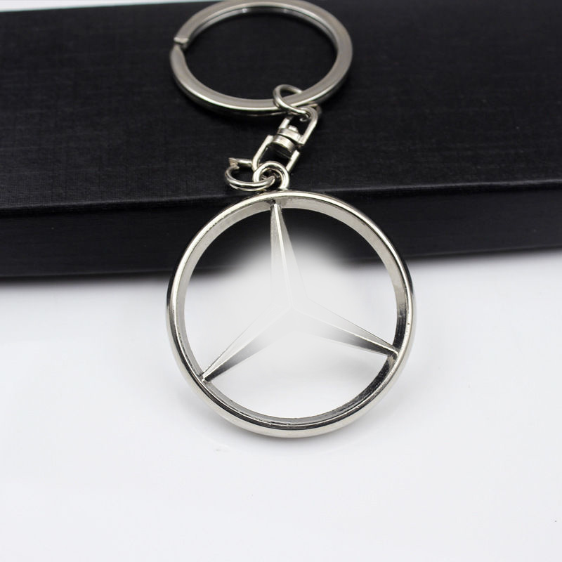 Mercedes Benz Key-chain creative car accessories key ring 4S shop custom wholesale(China)