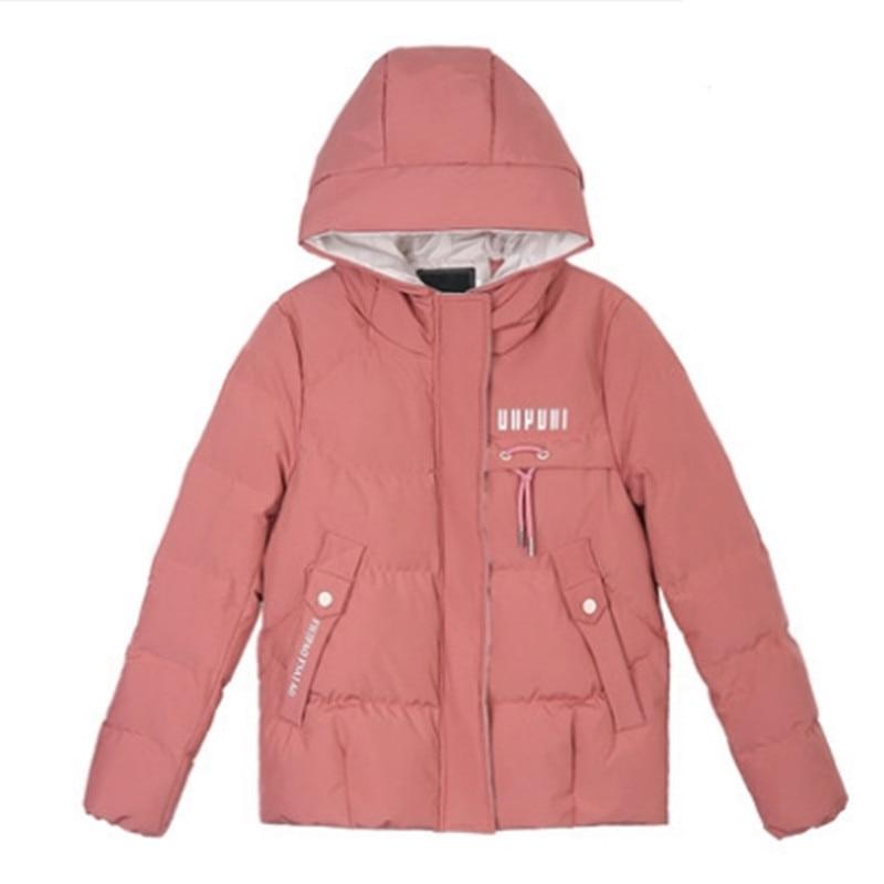Coton red 2018 À Vers Vêtements D'hiver Casual Femelle Black La Le Nouvelle Mode Manteau Bas Veste TqRrTgFHw