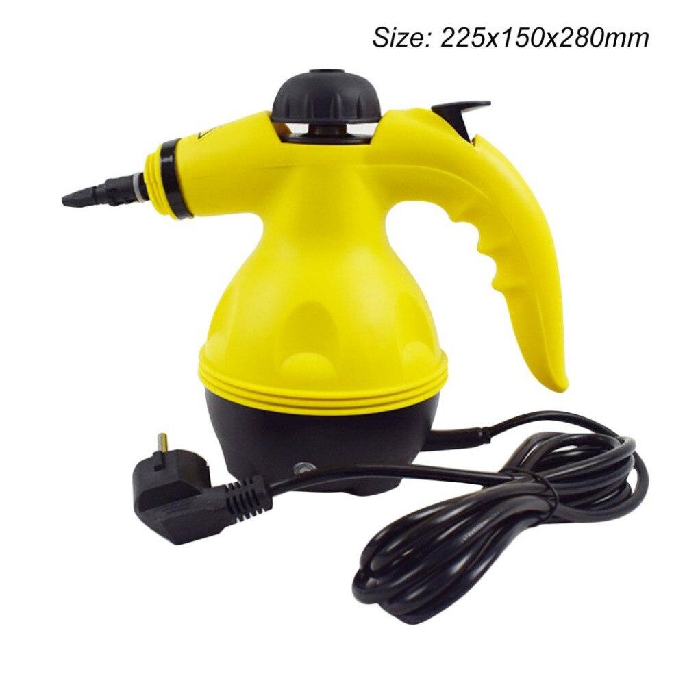 Многофункциональный электрический пароочиститель портативный отпариватель бытовой очиститель вложения кухонная щетка инструмент ес вилка