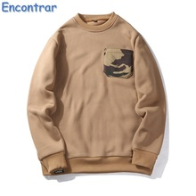 Фотография Encontrar 2017 Fashion Hooded Solid Colors Men Euro Size Hoodies Fitness Streetwear Hip-hop Pullover Sweatshirts Man,QA325
