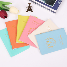 2018 Brand Fashion New PU Leather Passport Holder Travel Passport Cover ID Card Case Documents Bag Card Holder new arrival cutely travel id card holder passport holder pvc leather 3d design passport cover 14 9 6cm passport holder