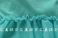 дети в одежда осень cores группа кружево вкладыш длинный рукав футболки девочки-laden футболки дети -