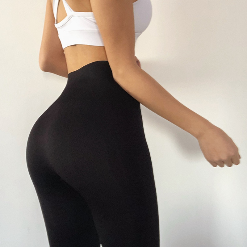 8ee1a4a1144 Dropwow Monster 2018 Yoga Pants Black Sport Leggings High Waist Push ...