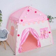 Los niños de interior y al aire libre Castillo tienda bebé princesa Casa de juego chico chica de Casa de juego para los niños regalos