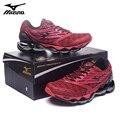 MIZUNO WAVE Prophecy 5 hombres profesionales zapatos 6 colores deportes zapatillas peso de elevación tamaño 40-45