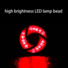Bicycle Waring Rear Light COB LED Lamp 3 Modes USB Rechargeable Bike Taillight Seat Post Cycling Safety Night Riding Bike Light 1500lm xml 3 modes 18650 super light bicycle bike front head bike light cycling riding lamps led rechargeable bicycle lamp