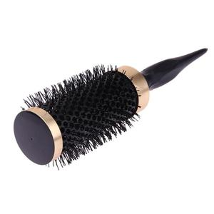 Image 3 - Professional Hair Brush Comb Salon Round Hairbrush Curling Hair Comb Hairdressing Heat Resistant Hairbrushes Styling Accessories