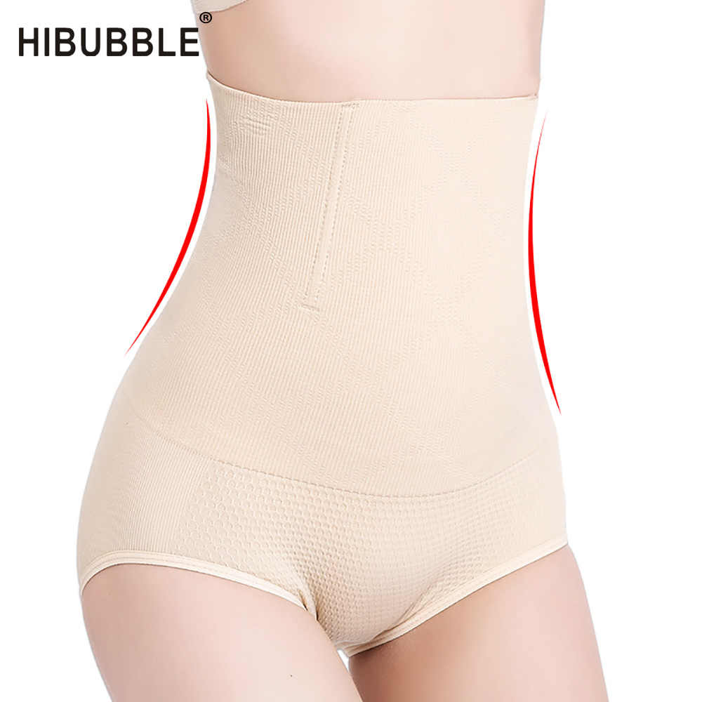 2be993801 HIBUBBLE Women High Waist Trainer Tummy Control Panties Body Shaper  Seamless Slimming Pants Panties Shapewear Girdle