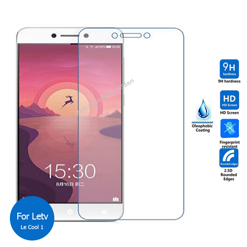 2PCS For Letv <font><b>LeEco</b></font> <font><b>Cool</b></font> <font><b>1</b></font> Tempered <font><b>Glass</b></font> Screen Protector 9h Safety Protective Film on Le Eco Cool1 Dual pelicula de vidro image