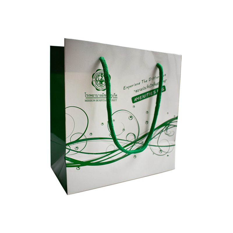 Wuhan Zuoluo Colorful Printing Custom Design Glossy Paper Bag