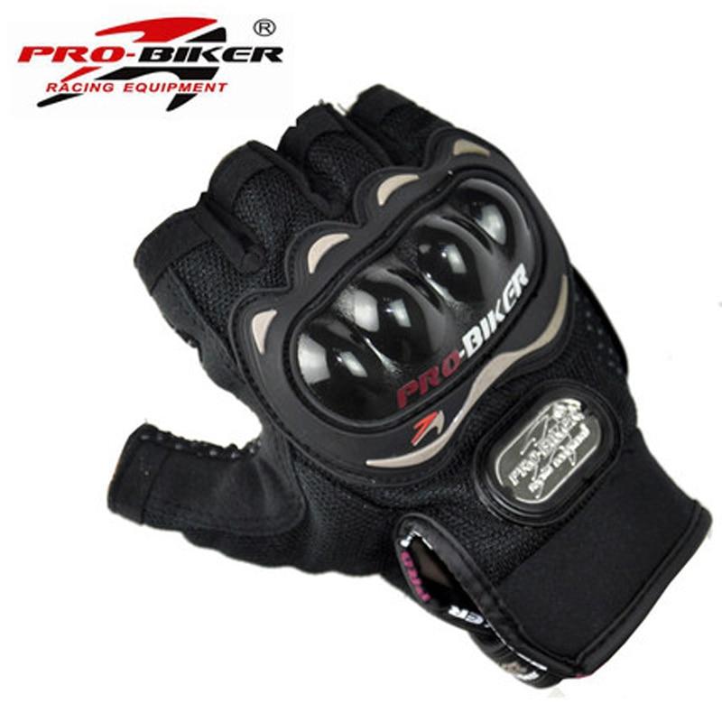 Motocicleta medio dedo guantes de moto de verano luvas para moto moto - Accesorios y repuestos para motocicletas