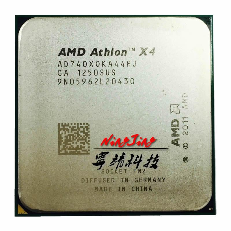 AMD Athlon X4 740  3.2G 65W Quad-Core CPU Processor AD740XOKA44HJ  Socket FM2
