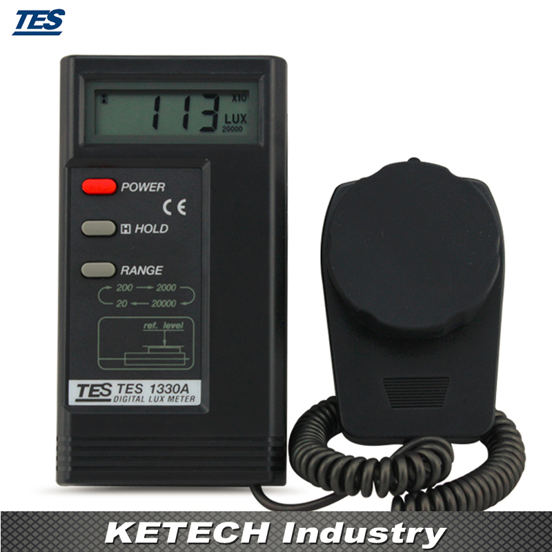 Digital Lux Meter Illuminometer luminance Meter Luxmeter Light Meter TES-1330A tenamrs yf 172 lcd display digital lux meter illuminometer light meter