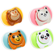 Cartoon Animal Cute Silicone Nipple Fake Pacifier Baby Child Pacy Orthodontic Teether Care