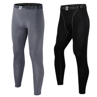 Men's pro basketball tights sports leggings pants running fitness elastic compression pants Sweatpants Bodybuilding Gym Trousers