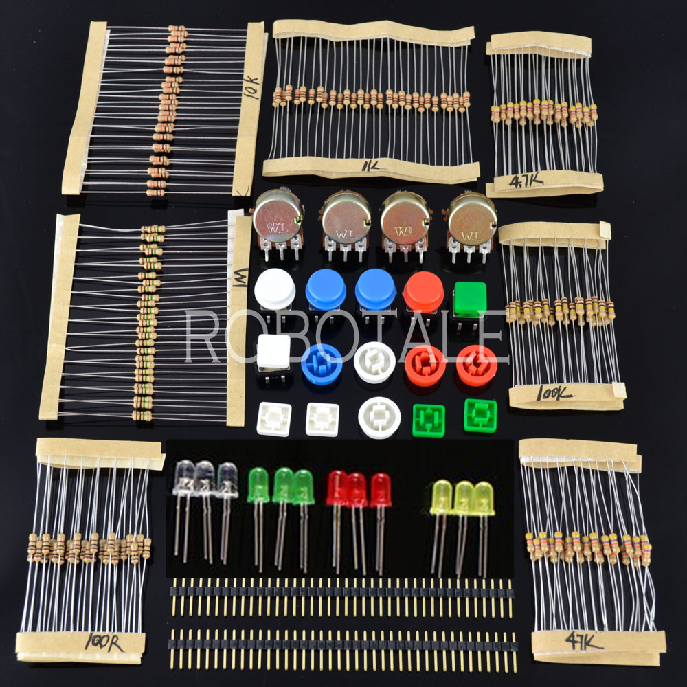Lot generic parts package for arduino kit shipping list