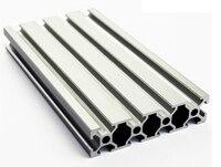 2080 Aluminum Profile Extrusion 20 Series Aluminum Tube Length 1 Meter