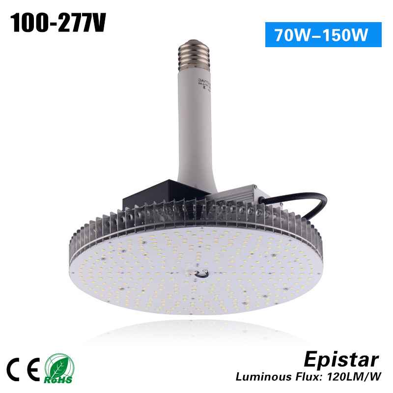 2017 hot selling high quality Mogul Base E39 120w led high bay bulbs for 400W MH/HPS replacement  цены