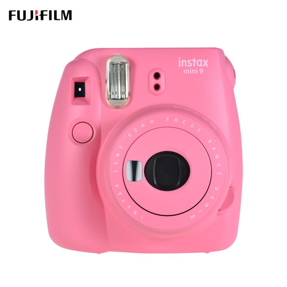 Fujifilm Instax Mini 9 Camera Instant Film Camera Cam met Selfie Spiegel 5 Kleur Fuji Fujifilm Instax Mini Instant 9 camera-in Film Camera van Consumentenelektronica op  Groep 1
