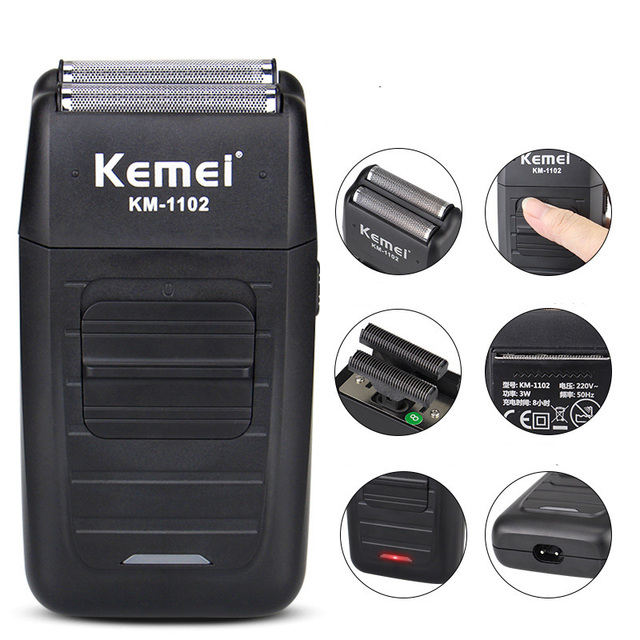 Беспроводная электробритва Kemei KM-1102