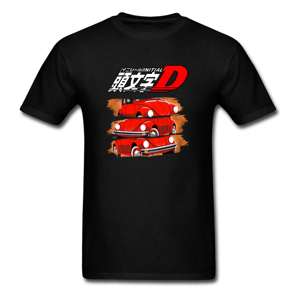 New Listing Initial D T Shirt Hottest Anime Film Print