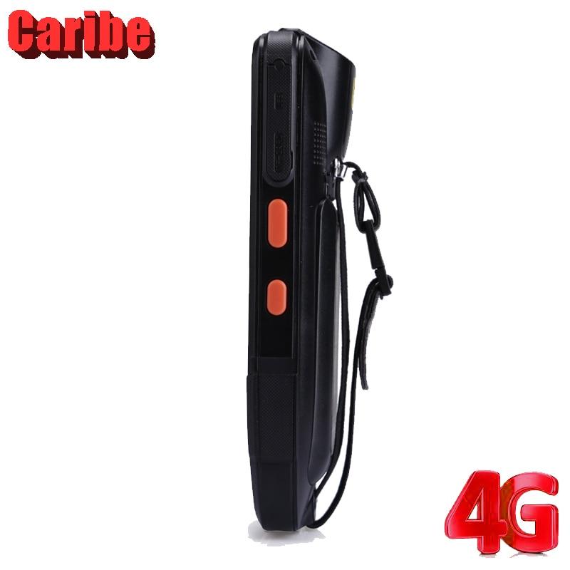 CARIBE Handheld 2D Barcodescanner 4 Zoll Rfid Uhf NFC Reader Android - Büroelektronik - Foto 5