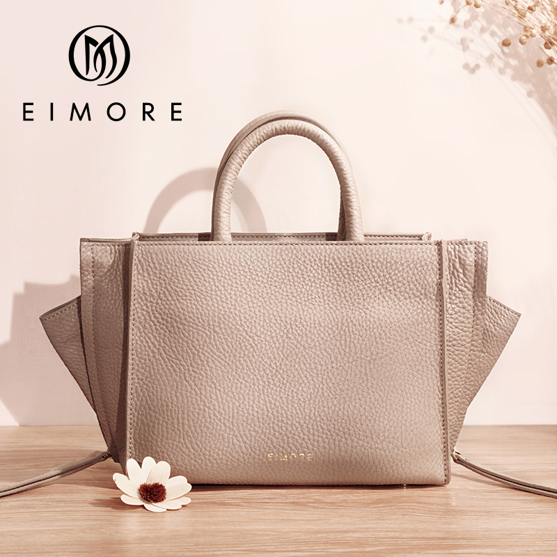 EIMORE 2019 New Winter Bag Women Genuine Leather Handbags Female Shoulder Bags Totes For Ladies High Quality Leather Hand BagEIMORE 2019 New Winter Bag Women Genuine Leather Handbags Female Shoulder Bags Totes For Ladies High Quality Leather Hand Bag
