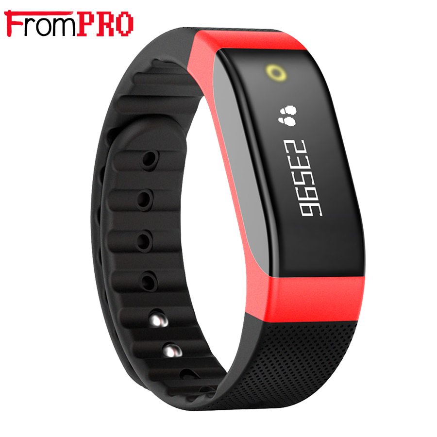 FROMPRO SMA BAND Bluetooth 4 0 Smart Bracelet Heart Rate Monitor Sleep Activity Tracker SmartBand for