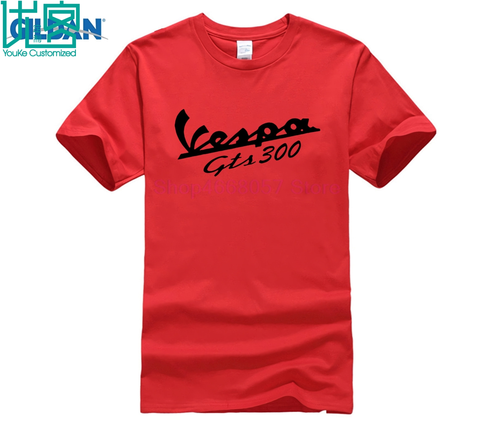Vespa GTS 300 S 3XL Color White T shirt in T Shirts from Men 39 s Clothing