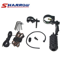 цена на Sharrow Compound Bow Accessories 1 Set Compound Bow Sight Kits Arrow Rest Stabilizer for Compound Bow