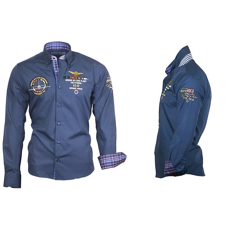 ZOGAA Men Shirt 2019 Spring New Fashion Personality Long-sleeved Shirt Casual Shirts Office Fashion Top Blouse Men Clothing