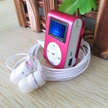 Metal LCD Screen Mp3 Music Player Portable Clip Mini Mp3