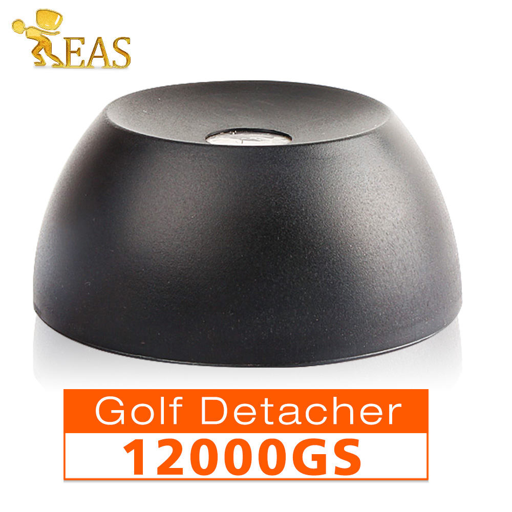 12,000GS Golf Detacher Black Security Tag Detacher Mini Tag Remover EAS System Plastic Housing Use For Supermarket etc(China)