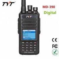 100% Оригинальный TYT MD 390 IP67 Водонепроницаемый DMR gps двухстороннее радио цифровая рация VHF/UHF