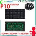 O mais baixo preço smd exterior levou módulo p10 pixel pitch 10mm 16x32 160x320 matriz rgb, sinal levou módulo p6 p8 p10 ao ar livre diy