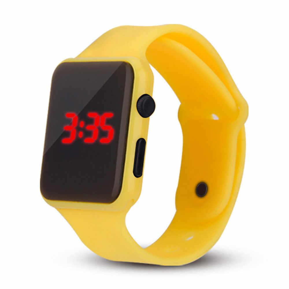 Erkek kadın spor izle LED öğrenci aydınlık yetişkin çift elektronik dijital saat elektronik saat Hodinky dijital relogio часы