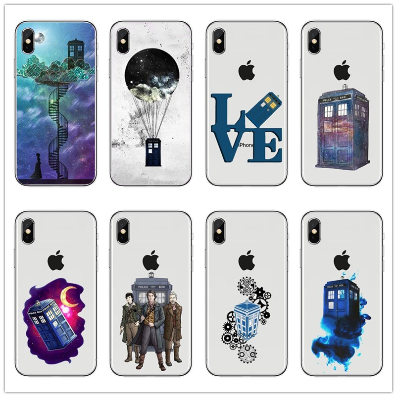 Half-wrapped Case Maiyaca Doctor Who Tardis Coque Shell Phone Case For Apple Iphone 8 7 6 6s Plus X 5 5s Se 5c Cover Less Expensive Cellphones & Telecommunications