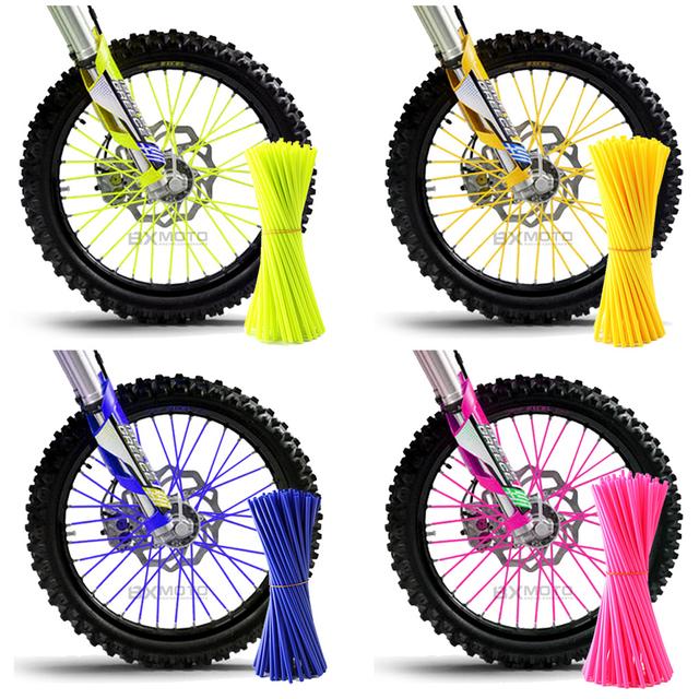 Motorcycle Dirt Bike Enduro Off Road Rim Wheel spoke skins For honda crf 450 CR CRF XR XL 85 125 250 500 KTM KAWASAKI YAMAHA BMW