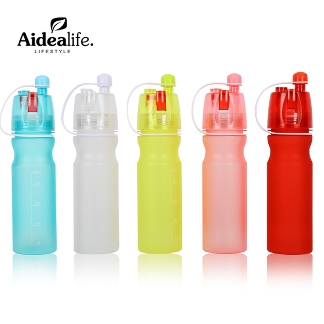7f8f9c97c Acampamento ao ar livre garrafa esportiva copo palhas eco friendly ginásio  de plástico garrafa de água