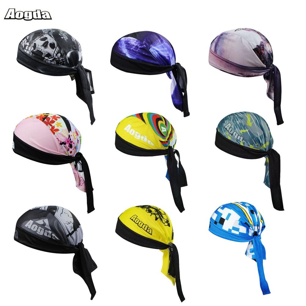 Nové rychloběžné dýchatelné dámské pánské kolečko klobouk klobouk kšiltovky cyklistické šály Bandana Hood MTB čelenka lebka Pirate Head šátek