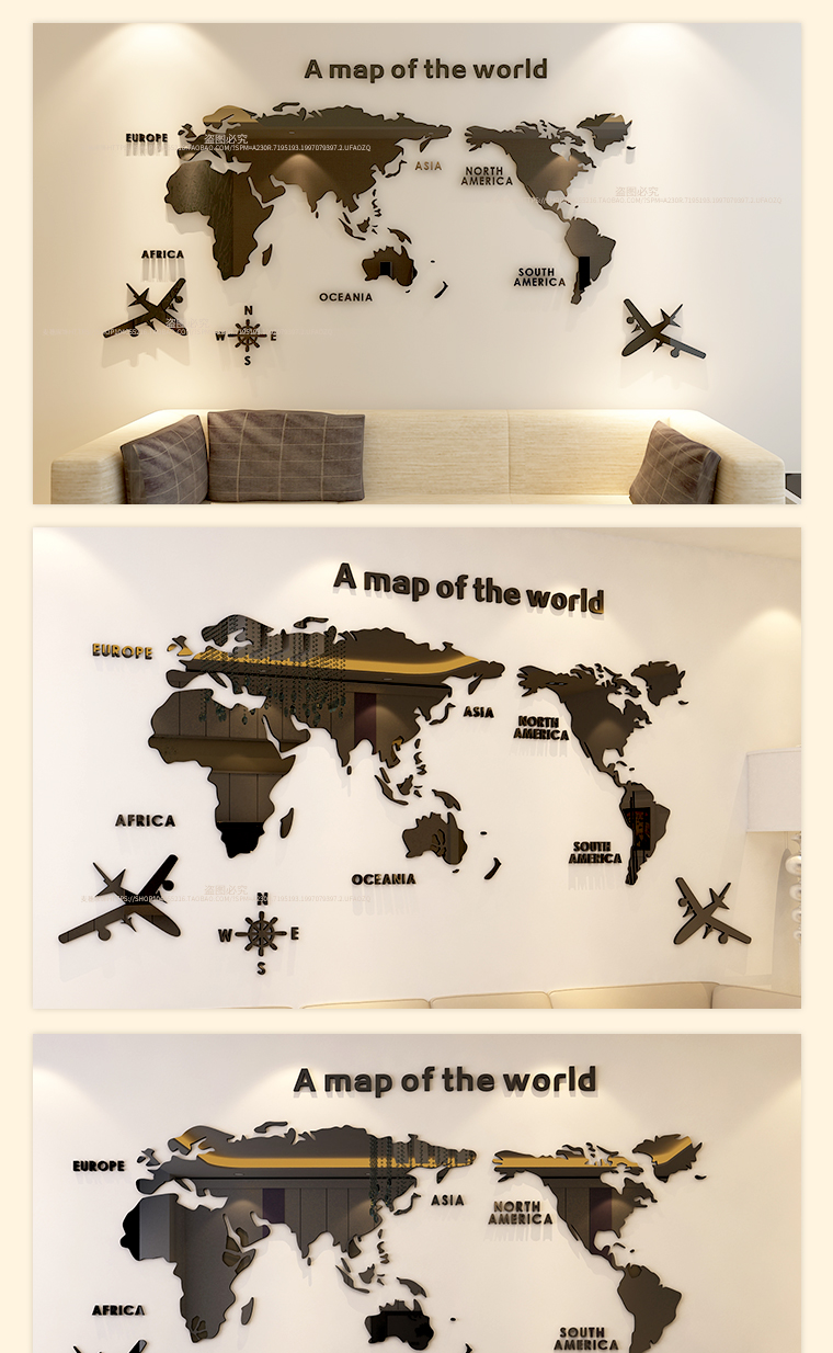HTB18q TXyzxK1RkSnaVq6xn9VXaP - World map Acrylic 3D solid crystal bedroom wall with living room
