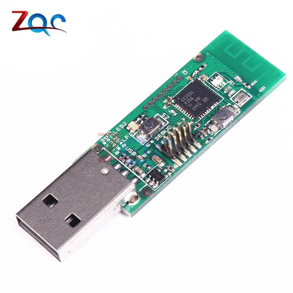 Wireless Zigbee CC2531 Sniffer Bare Board Packet Protocol Analyzer Module USB Interface Dongle Capture Packet