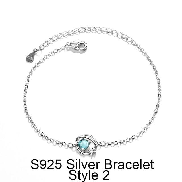 Silver Blue Planet Key...