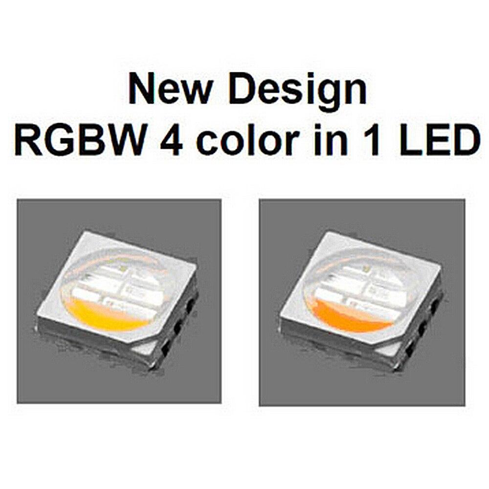 5m RGBW RGBW 5050 Led Stripsats DC 12V 4 i 1 Led Chip Vattentät Icke - LED-belysning - Foto 4