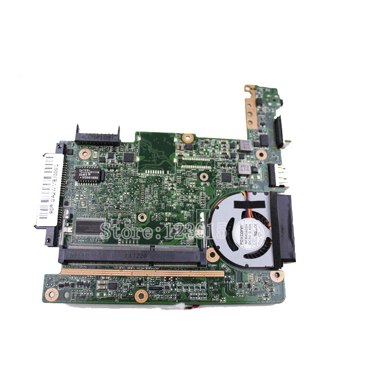 for ASUS Eee PC 1015P laptop motherboard rev 1.3 main board 100% Fully tested eee pc 1225b motherboard with cooler for asus laptop fully tested